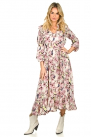 Lolly's Laundry |  Printed maxi dress Sanni | print  | Picture 3