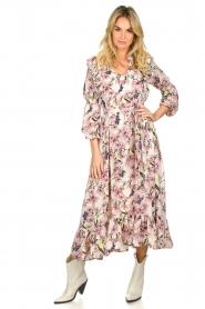 Lolly's Laundry | Maxi jurk met print Sanni | print  | Afbeelding 3