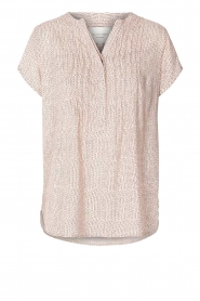 Lolly's Laundry |  Printed top Heather | nude  | Picture 1