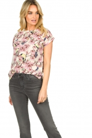 Lolly's Laundry |  Floral top Krystal | multi  | Picture 4