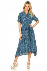 Lolly's Laundry |  Printed midi dress Blake | print  | Picture 2