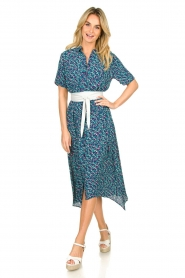 Lolly's Laundry |  Printed midi dress Blake | print  | Picture 3