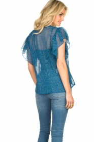 Lolly's Laundry    Printed ttop Isabel   blue    Picture 6