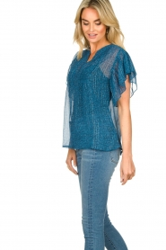 Lolly's Laundry    Printed ttop Isabel   blue    Picture 5