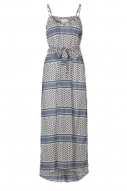 Lolly's Laundry |  Printed maxi dress Beatrice | blue  | Picture 1