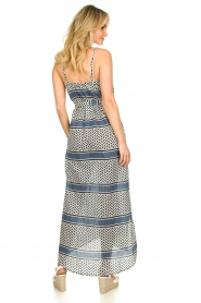 Lolly's Laundry |  Printed maxi dress Beatrice | blue  | Picture 5