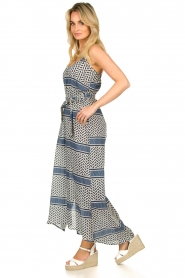 Lolly's Laundry |  Printed maxi dress Beatrice | blue  | Picture 4