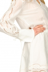 Patrizia Pepe |  Ajour dress Apollo | white  | Picture 8