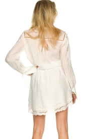 Patrizia Pepe |  Ajour dress Apollo | white  | Picture 7