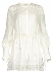 Patrizia Pepe |  Ajour dress Apollo | white  | Picture 1