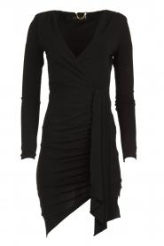 Patrizia Pepe | Little black dress Zeta | zwart   | Afbeelding 1