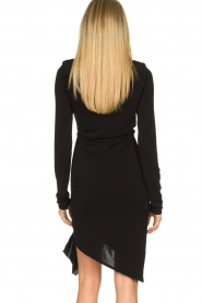Patrizia Pepe |  Little black dress Zeta | black  | Picture 7