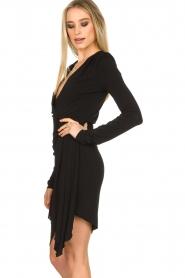 Patrizia Pepe | Little black dress Zeta | zwart   | Afbeelding 6