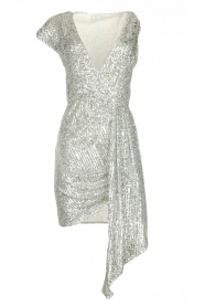 Patrizia Pepe |  Sequin dress Yule | silver  | Picture 1