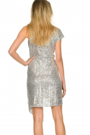 Patrizia Pepe |  Sequin dress Yule | silver  | Picture 6