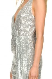 Patrizia Pepe |  Sequin dress Yule | silver  | Picture 7