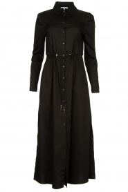 Patrizia Pepe |  Maxi dress Abito | black  | Picture 1