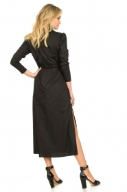 Patrizia Pepe |  Maxi dress Abito | black  | Picture 5