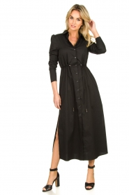 Patrizia Pepe |  Maxi dress Abito | black  | Picture 3