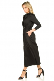 Patrizia Pepe |  Maxi dress Abito | black  | Picture 4