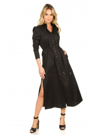 Patrizia Pepe |  Maxi dress Abito | black  | Picture 2