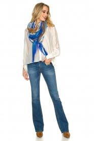 Patrizia Pepe |  Ajour blouse Mila | White   | Picture 3