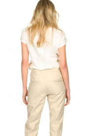Patrizia Pepe |  T-shirt Goldline | white  | Picture 6