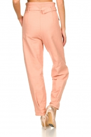 Patrizia Pepe |  High waisted pants Pip | pink  | Picture 6