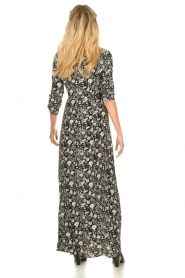 Les Favorites |  Floral maxi dress Mirjam | black  | Picture 5