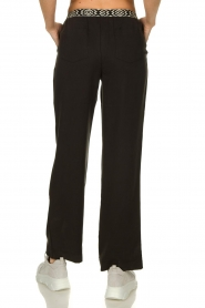 Les Favorites |  Pants with aztec waist band Monique | black   | Picture 5