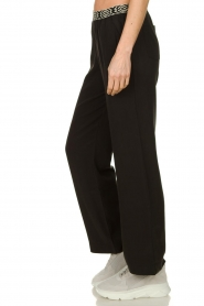 Les Favorites |  Pants with aztec waist band Monique | black   | Picture 4
