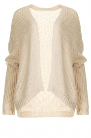 Les Favorites |  Knitted cardigan robbie | beige