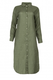 Blaumax |  Linen dress Maryann | green