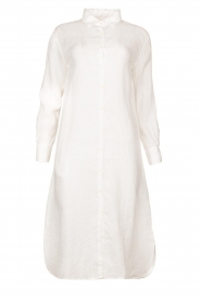 Blaumax |  Linen dress Maryann | white  | Picture 1