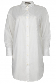 Blaumax |  Oversized blouse Marylou | white  | Picture 1