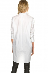 Blaumax |  Oversized blouse Marylou | white  | Picture 6