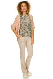 Blaumax |  Knitted cardigan Paola | nude  | Picture 3