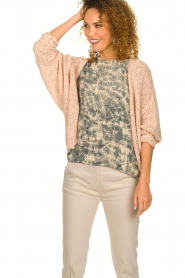 Blaumax |  Knitted cardigan Paola | nude  | Picture 2