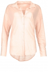 Linnen blouse Maddy | nude
