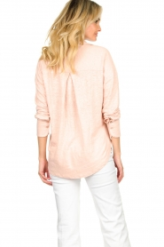Blaumax |  Linen blouse Maddy | nude  | Picture 5