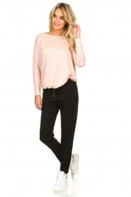 Blaumax |  Linen top Santiago | pink  | Picture 3