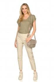 Blaumax    Linen T-shirt Fine   green    Picture 3