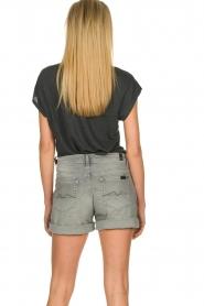Blaumax |  Linen T-shirt Fine | black  | Picture 5