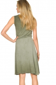 Blaumax |  Soft dress with V-neck Arezzo | green  | Picture 6