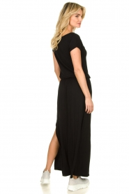 Blaumax |  Maxi dress with drawstring Townsville | black  | Picture 6
