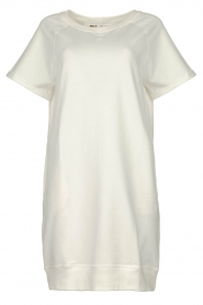 Blaumax |  Sweater dress Queens | white  | Picture 1