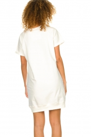 Blaumax |  Sweater dress Queens | white  | Picture 5