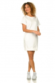 Blaumax |  Sweater dress Queens | white  | Picture 3