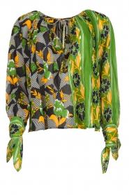 Antik Batik |  Visocse blouse Talita | multi  | Picture 1