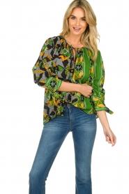 Antik Batik |  Visocse blouse Talita | multi  | Picture 2